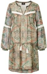 SIENNA Kleid, im Boho-Style, Kunstfaser