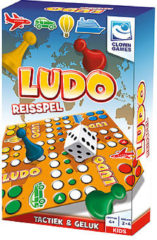 Clown Games Mens erger je niet: Ludo reisspel.