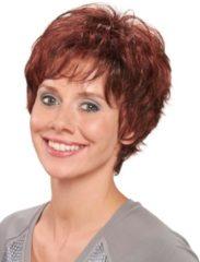 Pruik 'Karin' Lofty donkerbruin/middenbruin