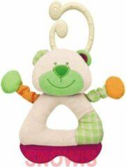 Witte Chicco Rammelaar Teddy 3m+