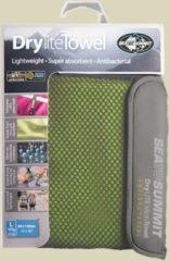Sea to Summit Drylite Towel Mikrofaser Handtuch Größe L Lime