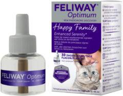 Feliway Optimum Navulling - Anti stressmiddel - 48 ml Kat
