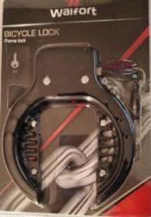 Walfort Fietsslot ringslot zwart 2 sleutels ART keurmerk