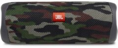 Donkergroene JBL Flip 5 waterproof bluetooth speaker IPX7