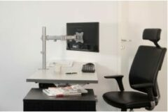 NewStar NM-D135SILVER Monitor-tafelbeugel 1-voudig 25,4 cm (10) - 76,2 cm (30) Kantelbaar, Zwenkbaar