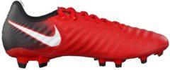 Fußballschuhe Tiempo Ligera IV FG 897744-002 mit adaptiver Passform Nike University Red/White-Black