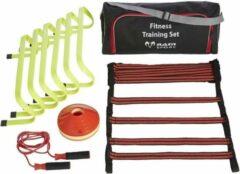New Fitness training set - Horden/ladders/cones/springtouw - Inclusief draagtas Top Kwaliteit