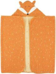 Trixie Badcape Mr. Fox 70 X 130 Cm Biologisch Katoen Oranje