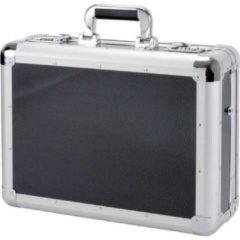 Juscha Laptop koffer Alumaxx C-1 aluminium zilver-carbonlook
