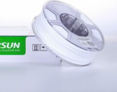 Witte ESun PETG Solid White - 1.75mm - 3D printer filament
