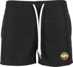 FitProWear Zwembroek Zwart Maat XL - Mannen - Unisex - Vrouwen - Zwemkleding - Short - Touwtjes - Swimwear - Zwemmen - Polyester - Nylon