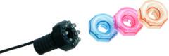 Zwarte Ubbink Onderwater vijververlichting MiniBright 3x8 LED 1354019