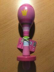 Roze Barbo Toys Hans Christian Andersen - 2 houten rammelaars Maracas
