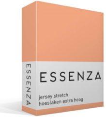 Roze Essenza Premium - Percale katoen - Hoeslaken - Extra Hoog - Tweepersoons - 140/160x200/220 cm - Peach