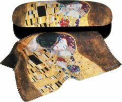 Fridolin Luxe brilkoker Gustav Klimt De Kus met poetsdoek