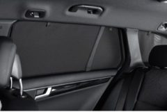 Zwarte Car Shades Carshades Toyota Avensis 5-deurs 2003-2009 autozonwering