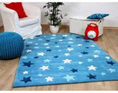 Lifestyle Kinderteppich Sterne Blau Pergamon Blau