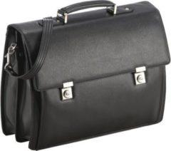 Aberdeen Aktentasche Leder 42 cm Laptopfach Picard schwarz