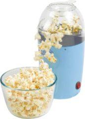 Blauwe Bestron APC1007 popcorn popper Black,Blue 1200 W