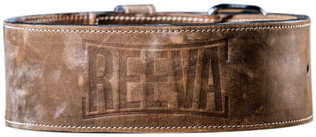 Afbeelding van Bruine Reeva leather lifting belt - gewichthefriem - large