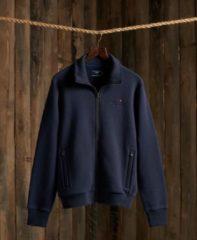 Marineblauwe Superdry Superdry Orange Label Classic Track Vest Heren - Rich Navy - Maat Xl Heren - Rich Navy - Maat XL