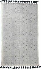 Witte Zuiver Graphic vloerkleed 120x180