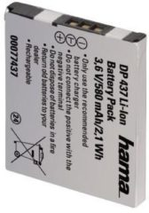 "Zwarte ""DP 437"" Li-Ion Battery for Canon NB-11L"