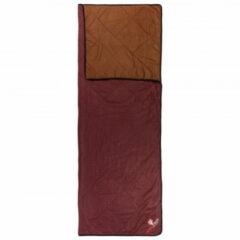 Grüezi Bag - WellhealthBlanket Wool Home - Dekenmodel maat 200 cm, rood/bruin