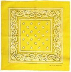 Zac's Alter Ego Bandana Gold Paisley print Mondkapje Goudkleurig