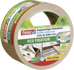 1x Tesa dubbelzijdig tapijttape wit op rol 10 meter - Klusmateriaal - Huishoudartikelen - Tapijttape - Dubbelzijdig tape