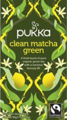Pukka Org. Teas Clean matcha groen 20 Stuks