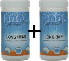 Pool Power Chloortabletten - tabletten chloor voor zwembad - duopack