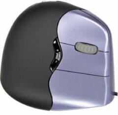 Evoluent Vertical Mouse 4 VM4S Muis USB Optisch Ergonomisch Zwart, Lila