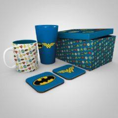DC COMICS - Giftbox - Pint, mug & 2 coasters - Logos