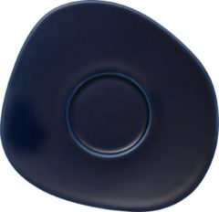 Blauwe GALLO by Villeroy & Boch Group LIKE BY VILLEROY & BOCH GROUP - Organic Dark Blue - Koffieschotel 17,5cm