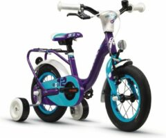 Paarse Kinderfiets - 12 inch - S'COOL niXe alloy 12 violett/blue