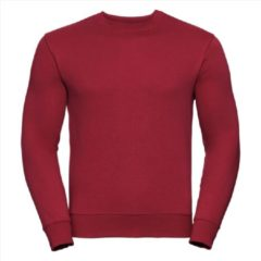 Russell Heren Sweatshirt Rood Ronde Hals Regular Fit - 3XL