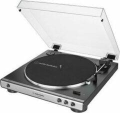 Audio Technica Audio-Technica AT-LP60XUSB Draaitafel met riemaandrijving Grijs, Metallic