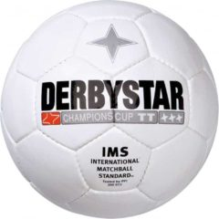 Derbystar Champions Cup wit - Voetbal - Multi Color - Maat 5 - 4565105-0000-5