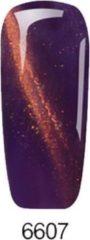 Paarse Purplebox Soak-off UV Gel Polish 6607 purple/orange