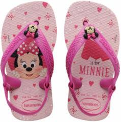 Roze Havaianas Baby Disney Classics II Meisjes Slippers - Crystal Rose - Maat 21