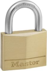 Gouden MasterLock Master Lock Hangslot 40 mm massief messing 140EURD