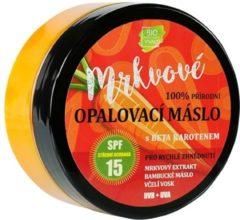 BIO VIVACO Natuurlijke Zonnebrandcrème met Wortel Extract - 150ml - voor een mooie gezonde langdurige bruine huid, beschermt en voorkomt veroudering van de huid