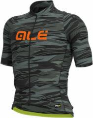 Alé - Rock Jersey Graphics - Fietsshirt maat XXL, zwart