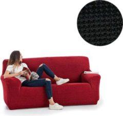 MeubelVisie Milos meubelhoezen - Bankhoes - 130-180cm - Zwart - Verkrijgbaar in verschillende kleuren!
