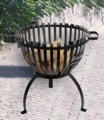 Baldur-Garten Feuerkorb, Feuerschale &acuteTulpe´ aus Eisen LxBxH 50x54x50 cm