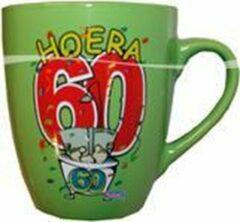 Groene Folat Leeftijd mok 60 jaar