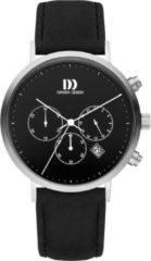 Zilveren Danish Design watches edelstalen herenhorloge Berlin Black IQ13Q1245