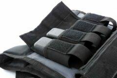 Zwarte Muscle Power Gewichtsvest - 20 kg