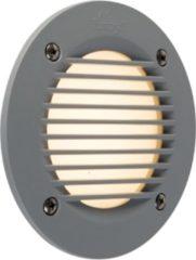 QAZQA leti - Wandlamp - 1 lichts - Ø 135 mm - Grijs